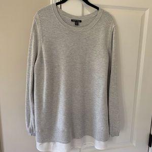 Hilary Radley Mixed Media Sweater